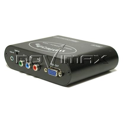 Изображение Конвертер CV 233 HVY (2HDMI в VGA/YPbPr+Audio)
