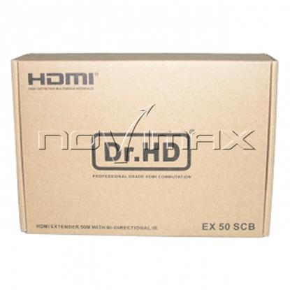 Изображение HDMI удлинитель по UTP Dr.HD EX 50 SCB
