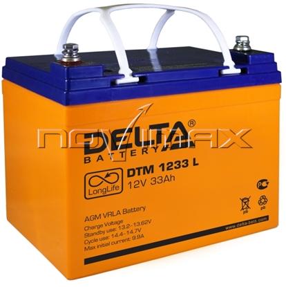 Изображение Аккумулятор 12В 33А/ч (DTM 1233 L)