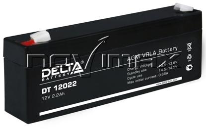 Изображение Аккумулятор 12В 2.2А/ч (DT 12022)