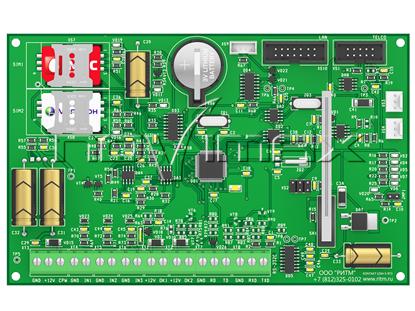 Изображение Панель Контакт GSM-5-RT3