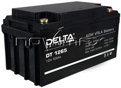 Изображение Аккумулятор 12В 65А/ч (DT 1265)