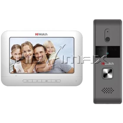 Изображение Комплект домофон HiWatch DS-D100K
