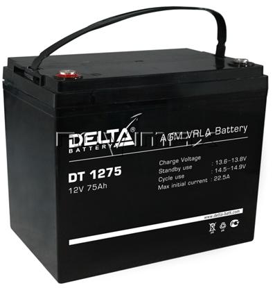 Изображение Аккумулятор 12В 75А/ч (DT 1275)
