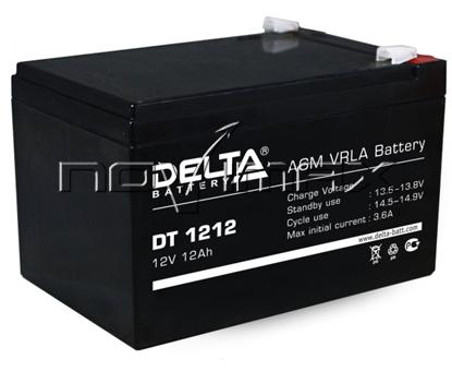 Изображение Аккумулятор 12В 12А/ч (DT 1212)