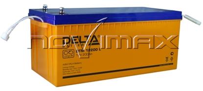 Изображение Аккумулятор 12В 200А/ч (DTM 12200 L)