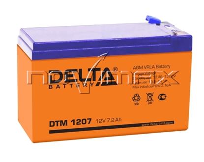 Изображение Аккумулятор 12В 7А/ч (DTM 1207)