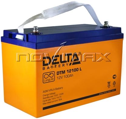 Изображение Аккумулятор 12В 100А/ч (DTM 12100 L)