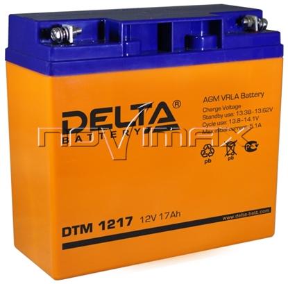 Изображение Аккумулятор 12В 17А/ч (DTM 1217)