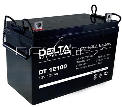 Изображение Аккумулятор 12В 100А/ч (DT 12100)