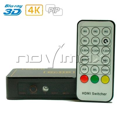 Изображение HDMI переключатель SW 414 SLP