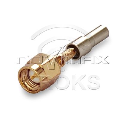 Изображение Разъем SMA (male) - RG174, RG316 обжимной