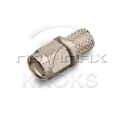 Изображение Разъем RP-SMA (male) 5D, LMR240, LMR300, RG8X обжимной