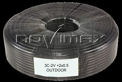Изображение Кабель 3C-2V+2x0.5 OUTDOOR