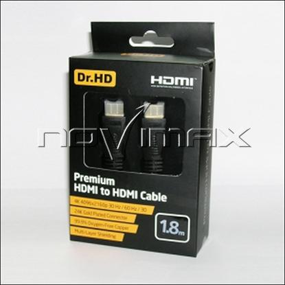 Изображение HDMI кабель Dr.HD (1.8 м)  Premium