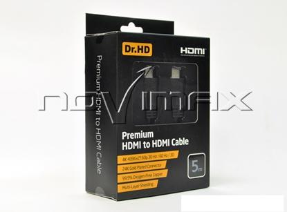 Изображение HDMI кабель Dr.HD (5 м) Premium