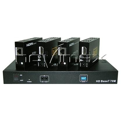 Изображение HDMI делитель-удлинитель SP 144 BT 70