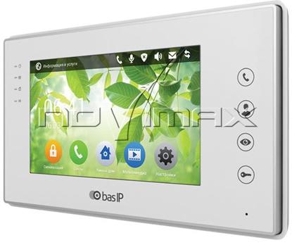 Изображение Видеодомофон BAS-IP AR-07L W v3/ AR-07L B v3