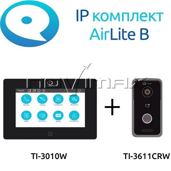 Изображение Комплект домофон TRUE IP Wi-Fi AirLite B