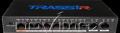 Изображение Коммутатор TRASSIR TR-NS1010-96-8POE