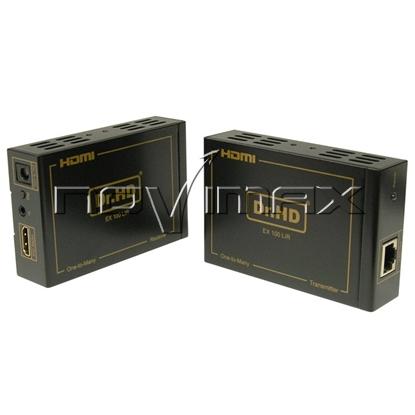 Изображение Комплект приемник-передатчик Dr.HD EX 100 LIR