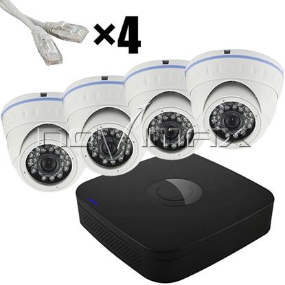 """Изображение Altcam IP """"Дом"""" на 4 камеры"""