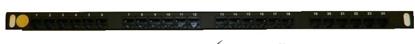 """Изображение Патч-панель 19"""" (0.5U) 24 порта, cat.6e, Dual Type """"F"""""""