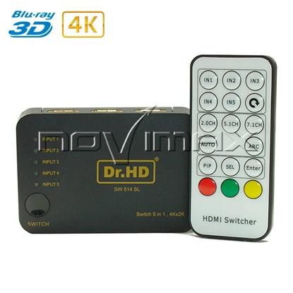 Изображение HDMI переключатель SW 514 SL