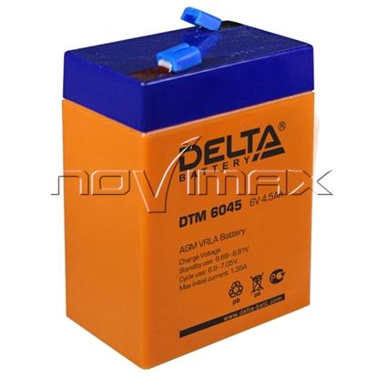 Изображение Аккумулятор 6В 4.5А/ч (DTM 6045)