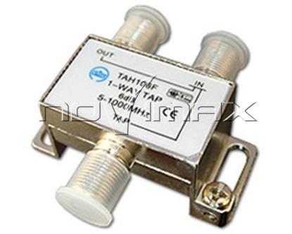 Изображение Антенный ответвитель на 1 отвод ,8 Дб (TAH108F)
