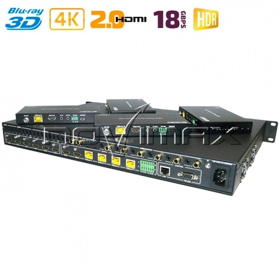 Изображение HDMI матрица MA 666 FBT 70