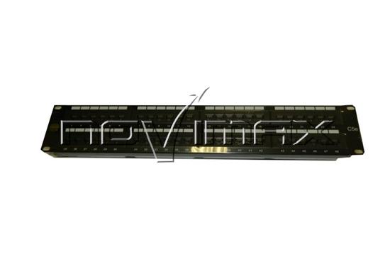 """Изображение Патч-панель 19"""" (2U) 48 портов, cat.5e, Dual Type """"J"""""""