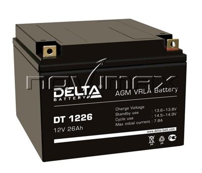 Изображение Аккумулятор 12В 26А/ч (DT 1226)