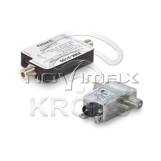 Изображение Малошумящий 3G усилитель УМК-2100 с инжектором питания по кабелю