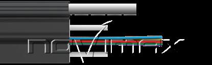 Изображение Оптический кабель CO-FTTHS1-1