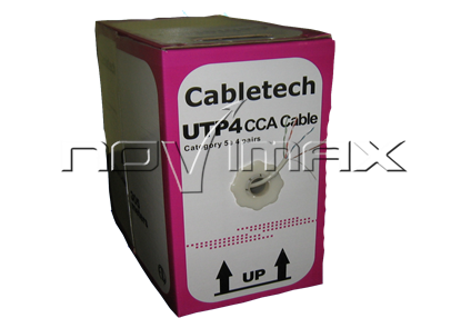 Изображение Cabletech UTP4 cat.5е CCA