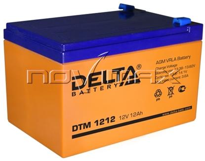 Изображение Аккумулятор 12В 12А/ч (DTM 1212)