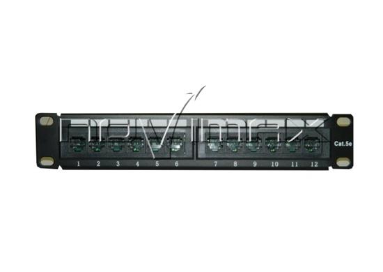 """Изображение Патч-панель 10"""" (1U) 12 портов, cat.5e, 110 Type """"L"""""""