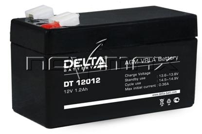 Изображение Аккумулятор 12В 1.2А/ч (DT 12012)