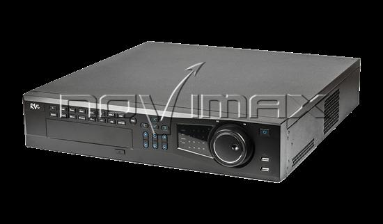 Изображение IP-Видеорегистратор RVi-IPN64/8-4K V.2