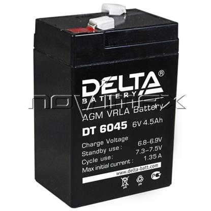 Изображение Аккумулятор 6В 4.5А/ч (DT 6045)