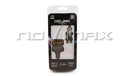 Изображение Кабель DVI-D - HDMI (2м.)