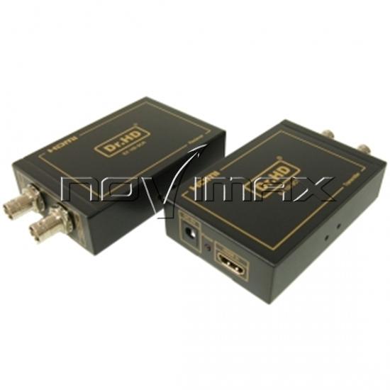 Изображение HDMI удлинитель по коаксиальному кабелю Dr.HD EX 100 SC