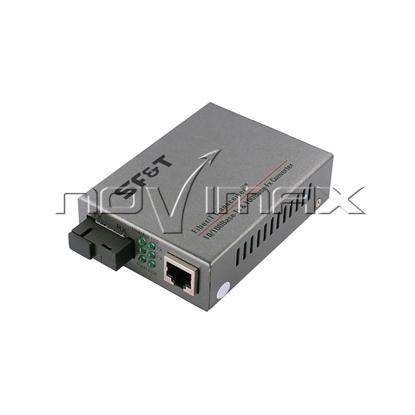Изображение SF-100-11S5b медиаконвертер 10/100Base-Tx/100Base-Fx